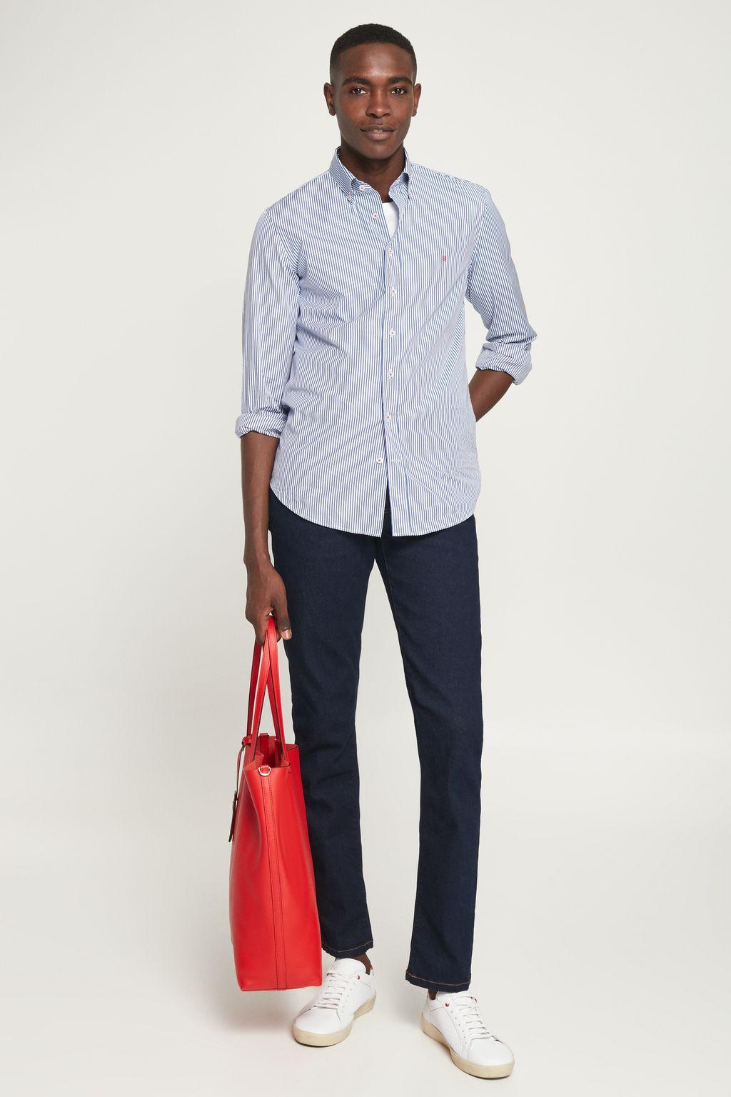 Regular fit selvedge jeans