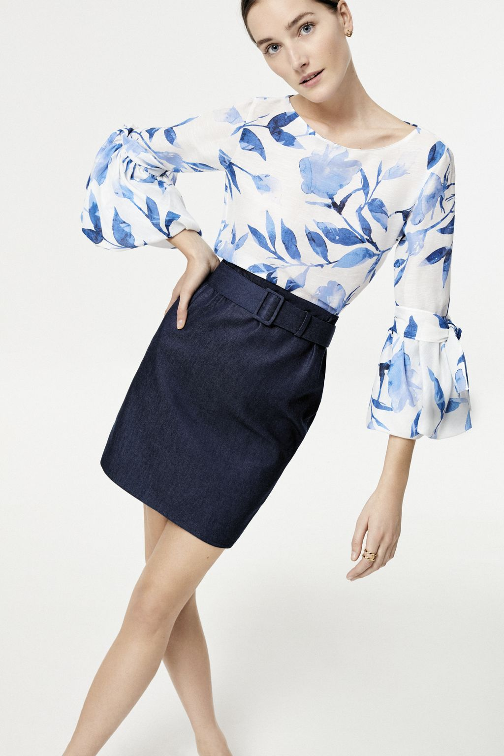 CH in Bloom gazar blouse