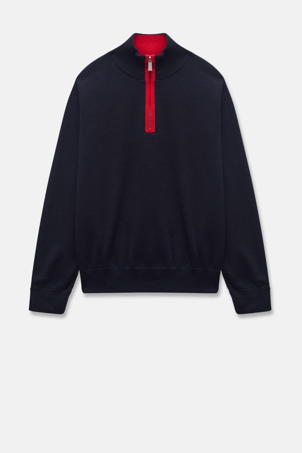 CH Swing half-zip sweater