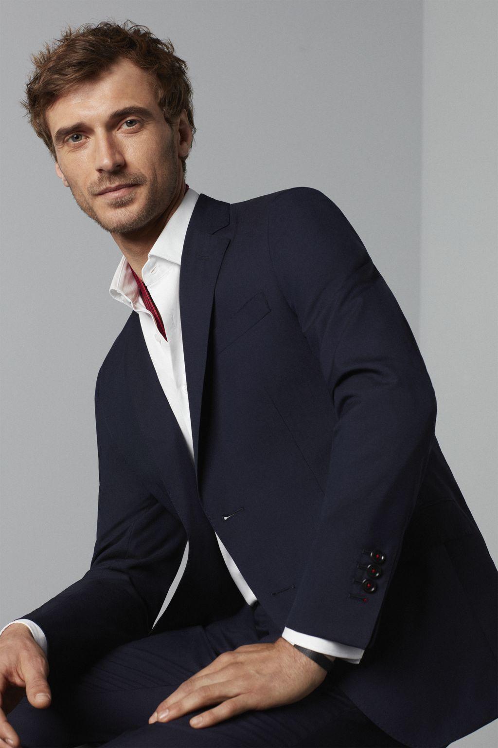 Cool wool suit blazer