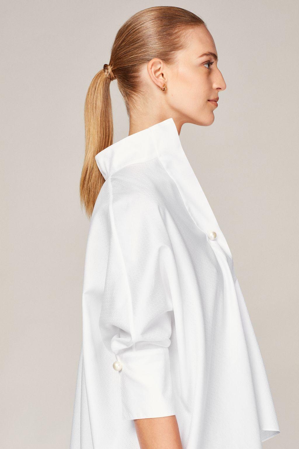 CH jacquard white shirt