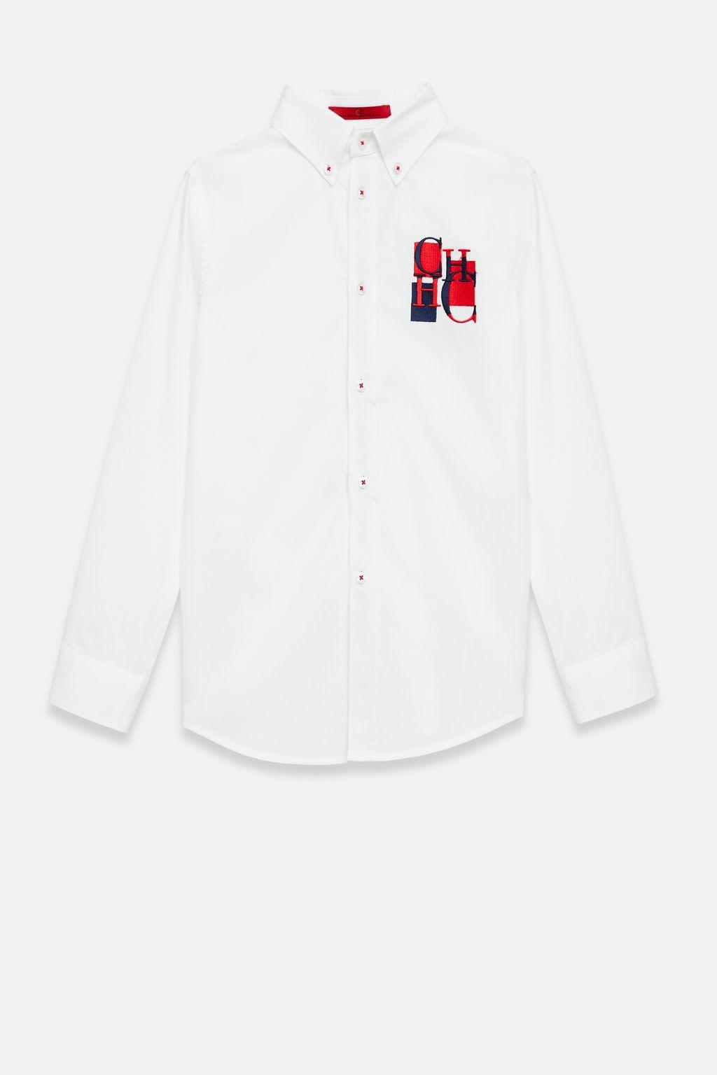 Two-tone Oxford shirt