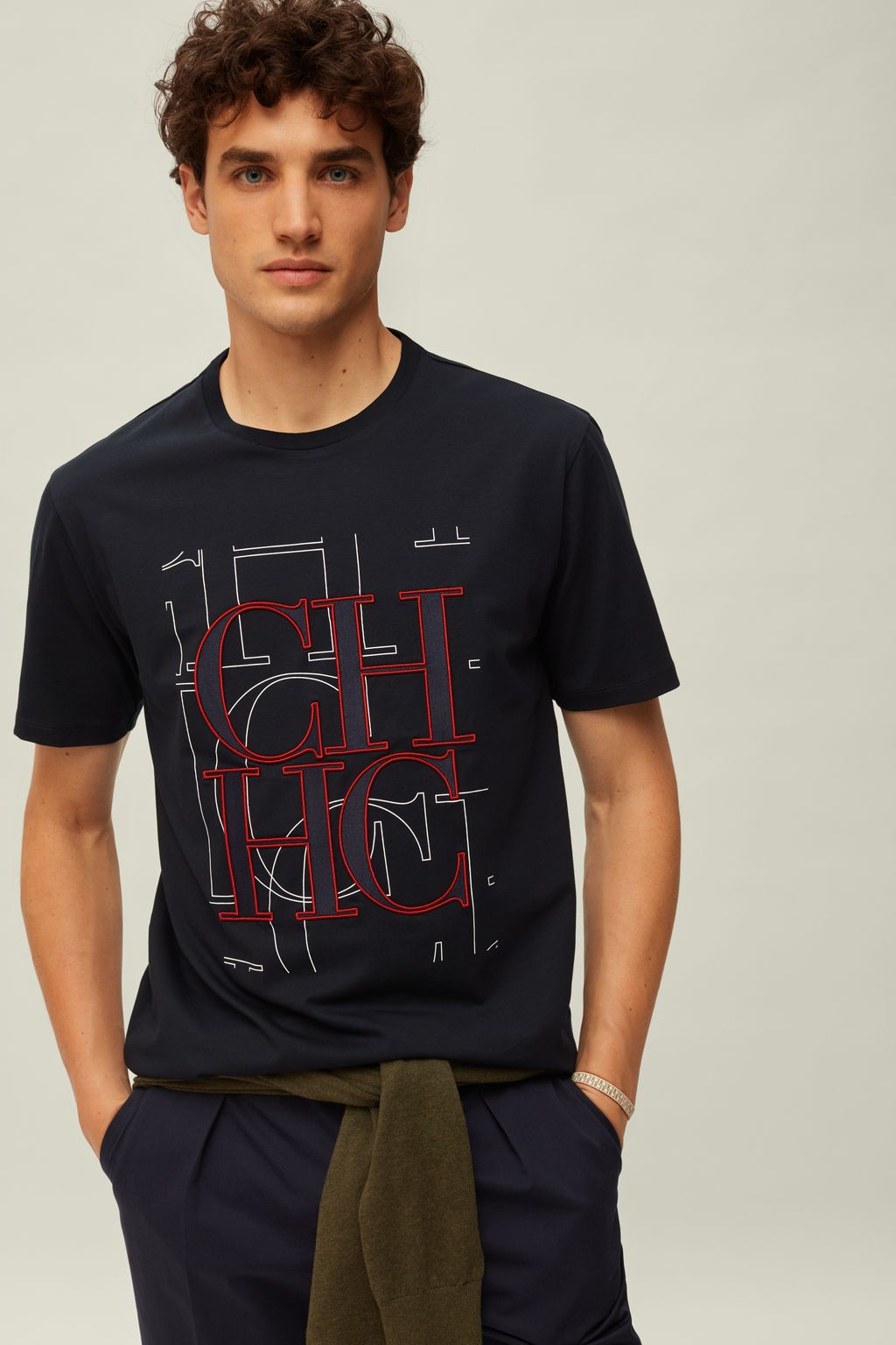 CH cotton t-shirt