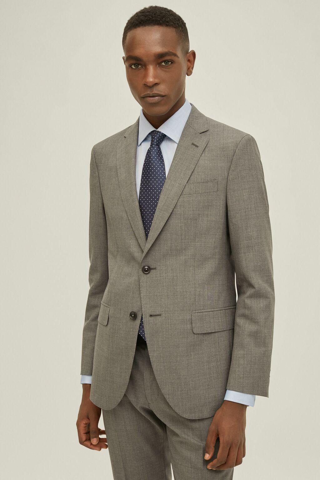 Cool wool suit jacket