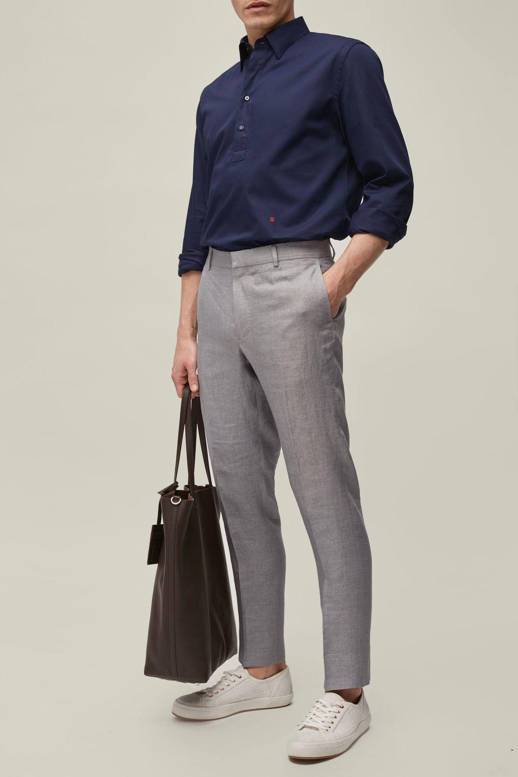 Classic linen pants