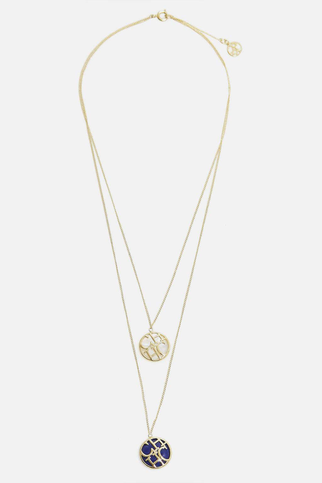 Athena layered necklace