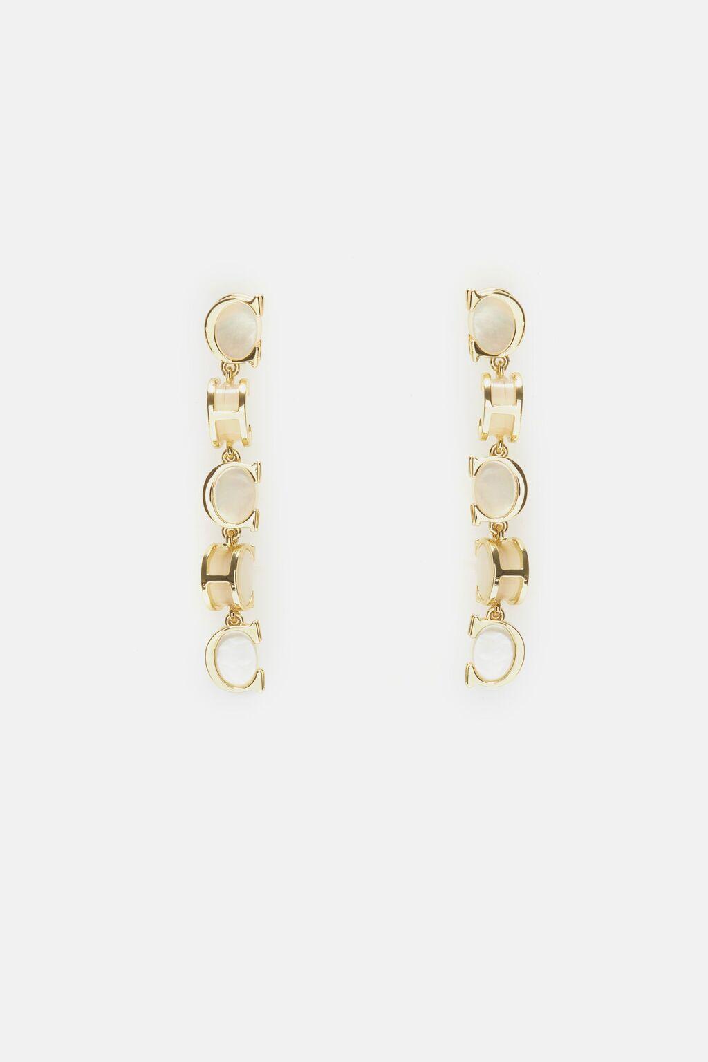 Scala drop earrings