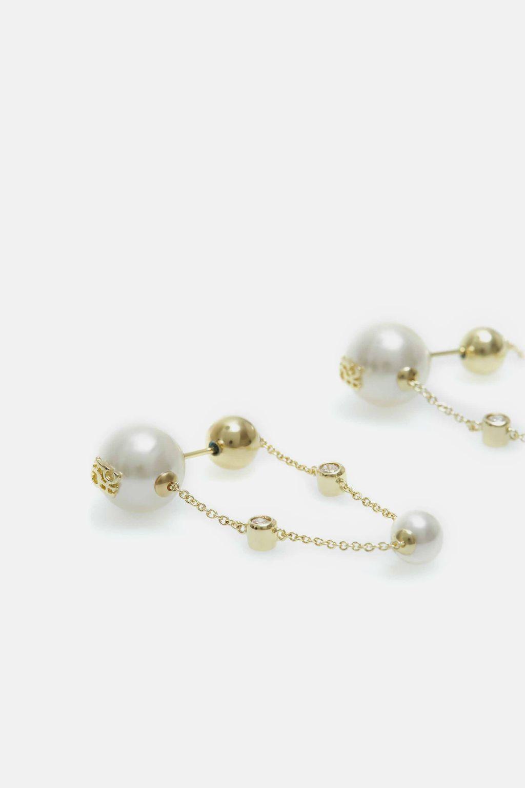 Balance drop earrings