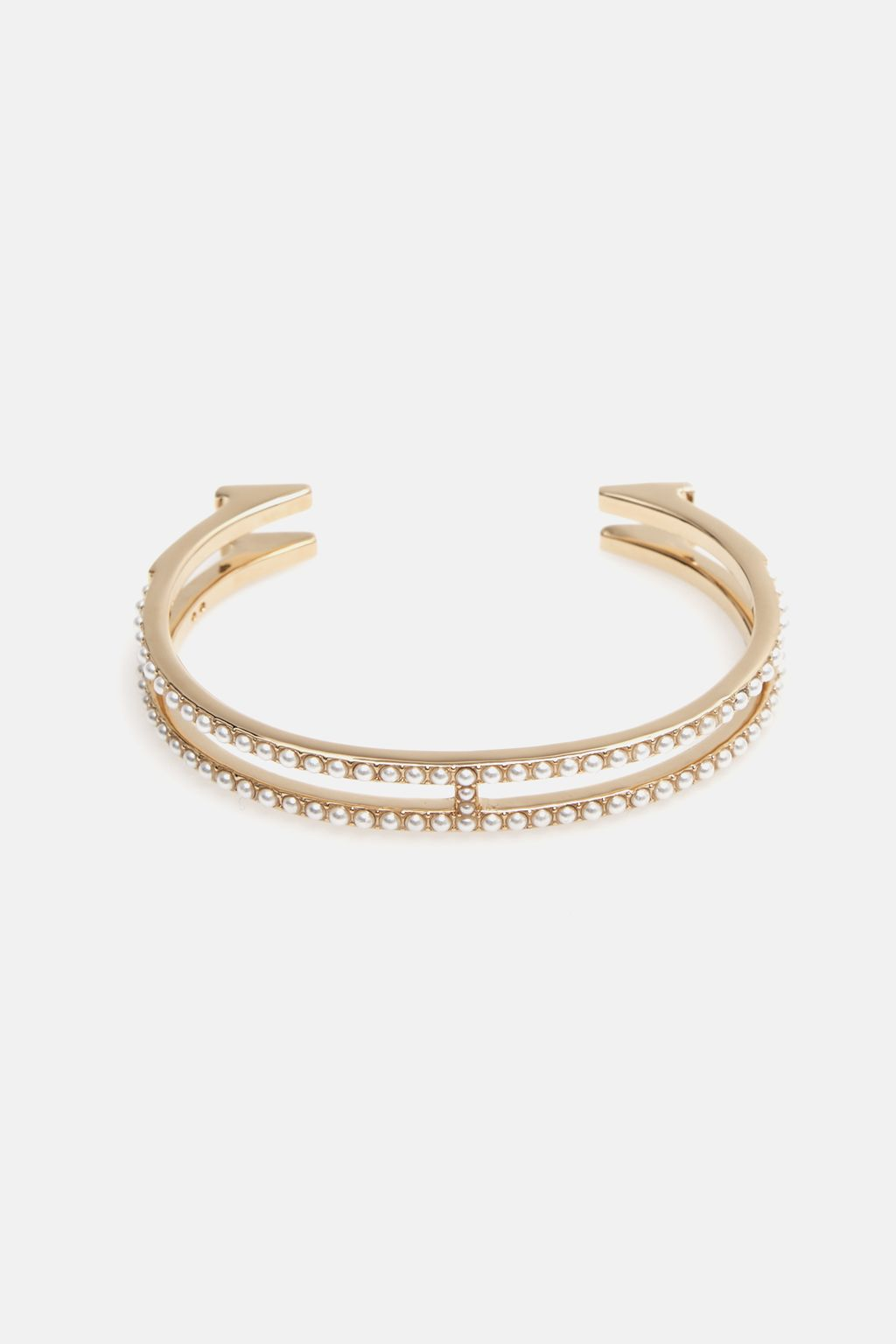 Thin Insignia cuff with pearls