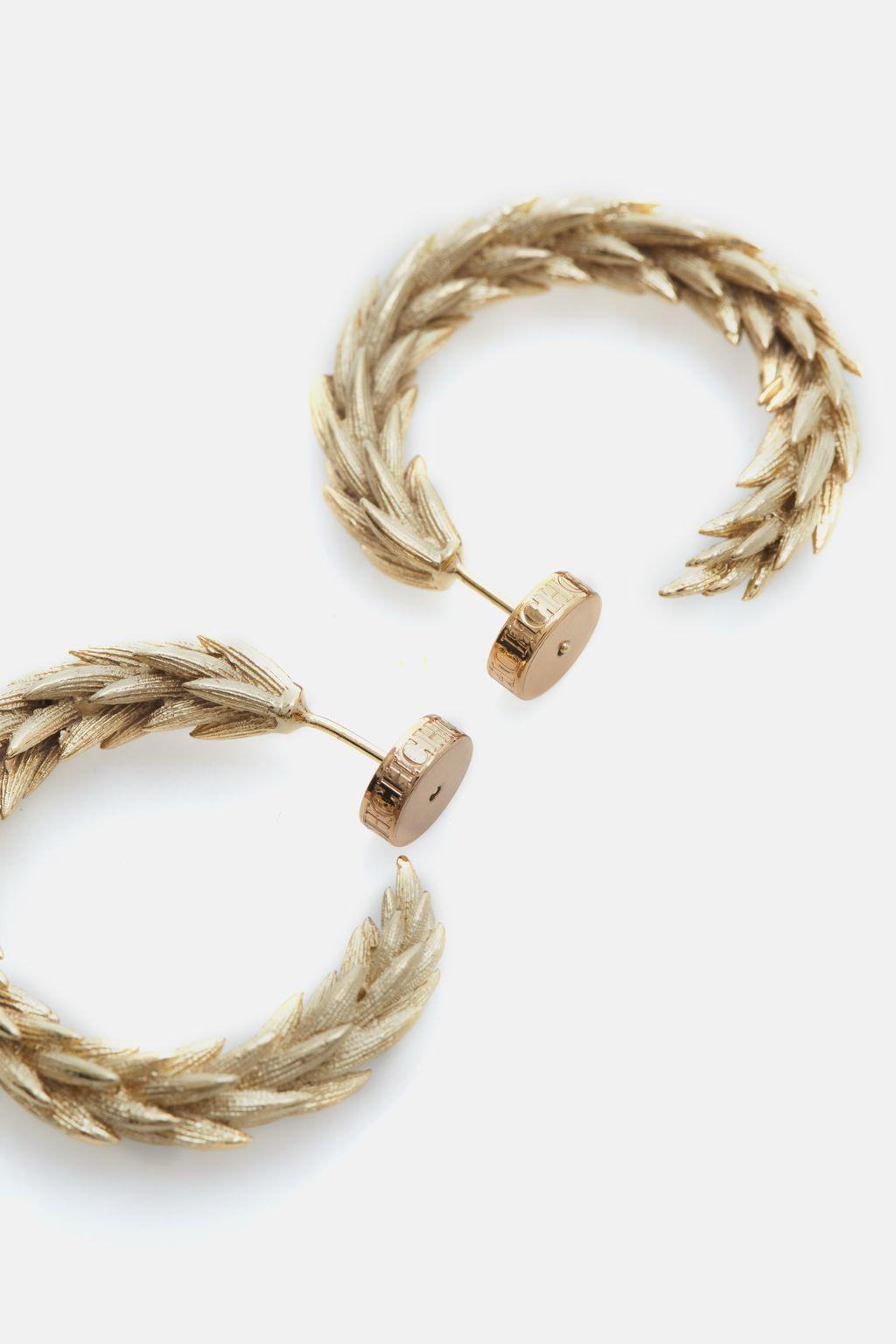 Champ de Blé hoop earrings