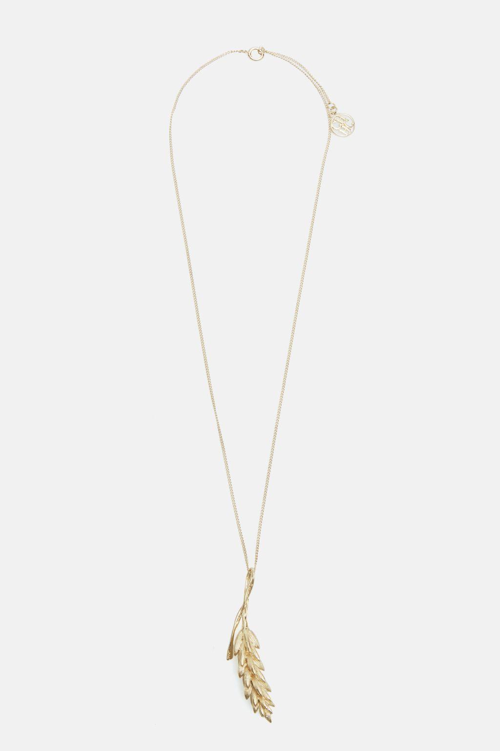 Champ de Blé necklace