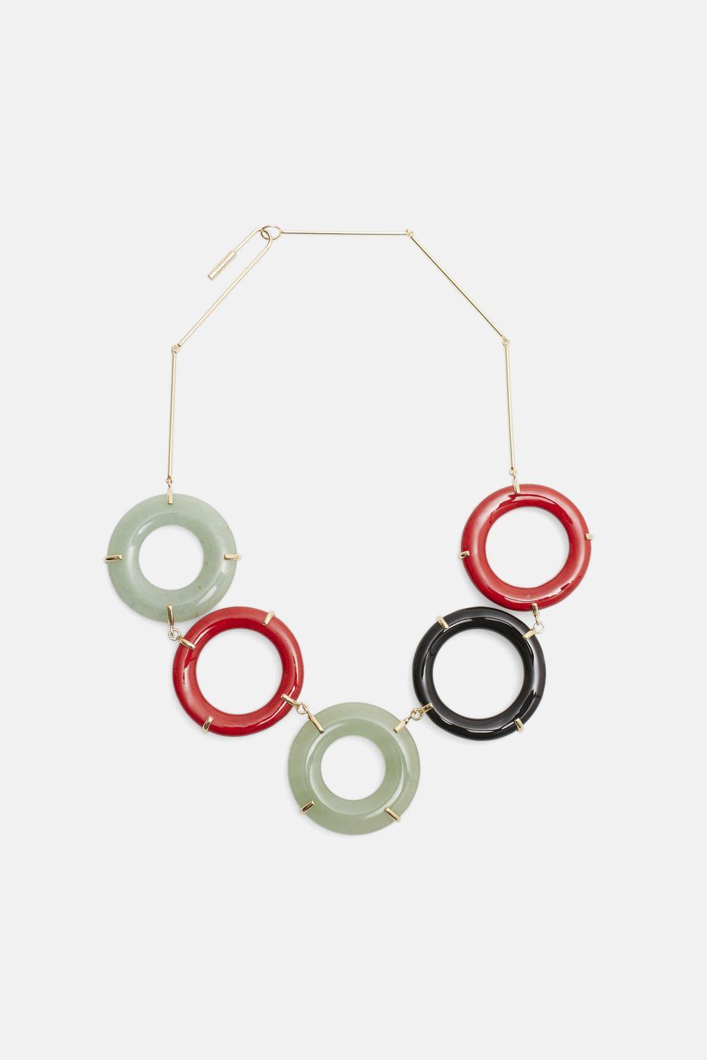 Moonscape necklace