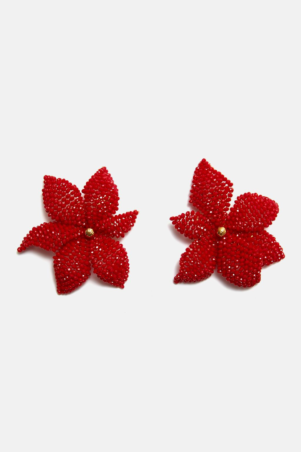Jasmine Beads large earrings