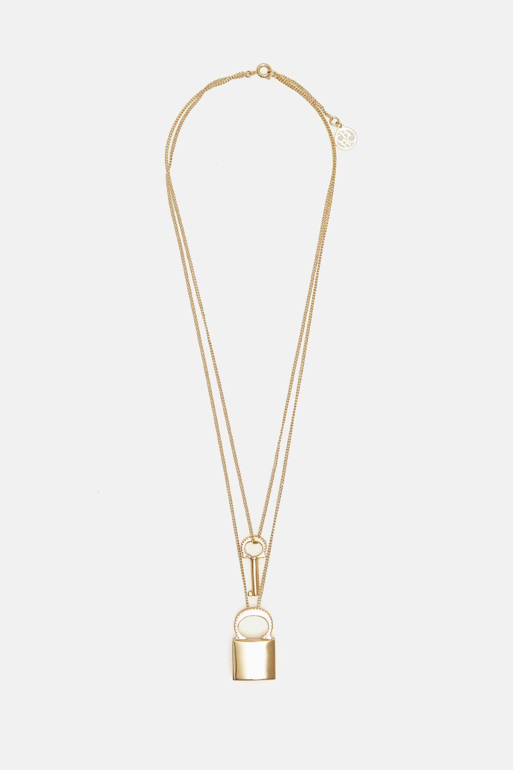 Locked Insignia necklace