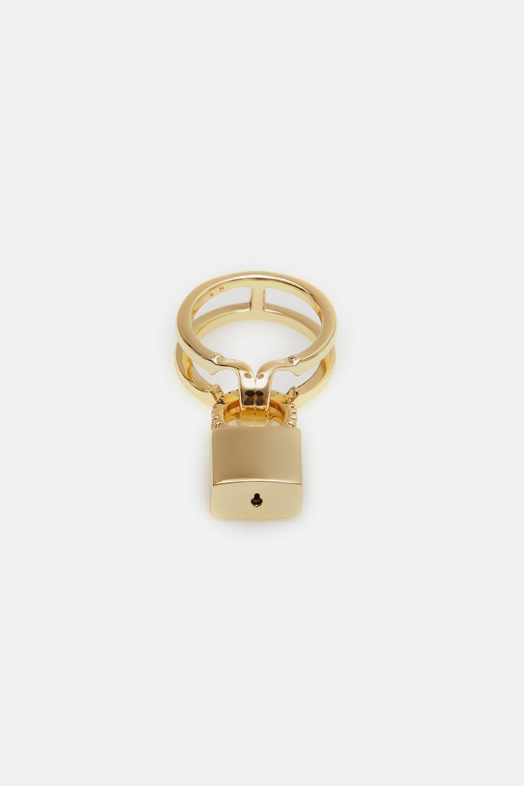 Locked Insignia ring