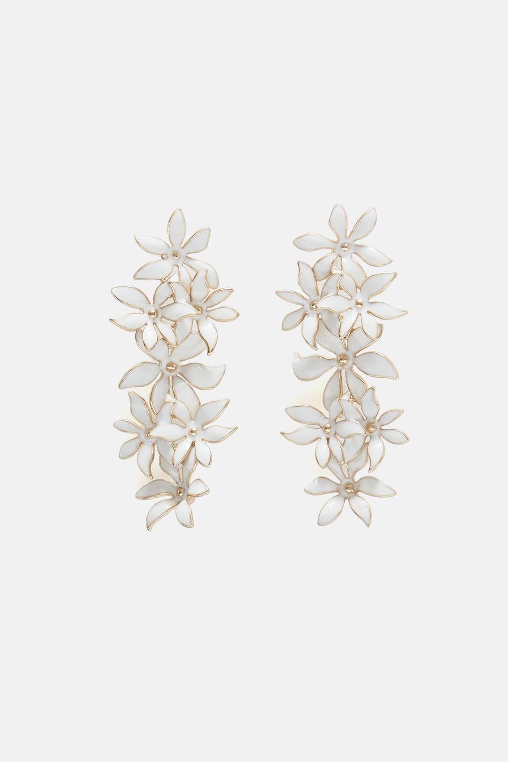 Biznaga drop earrings