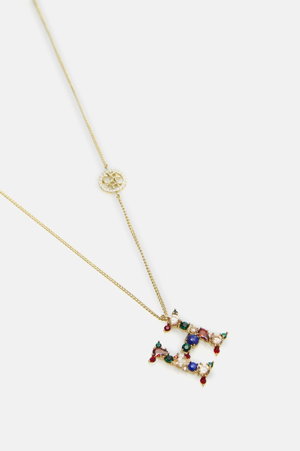 ABCH necklace letter H
