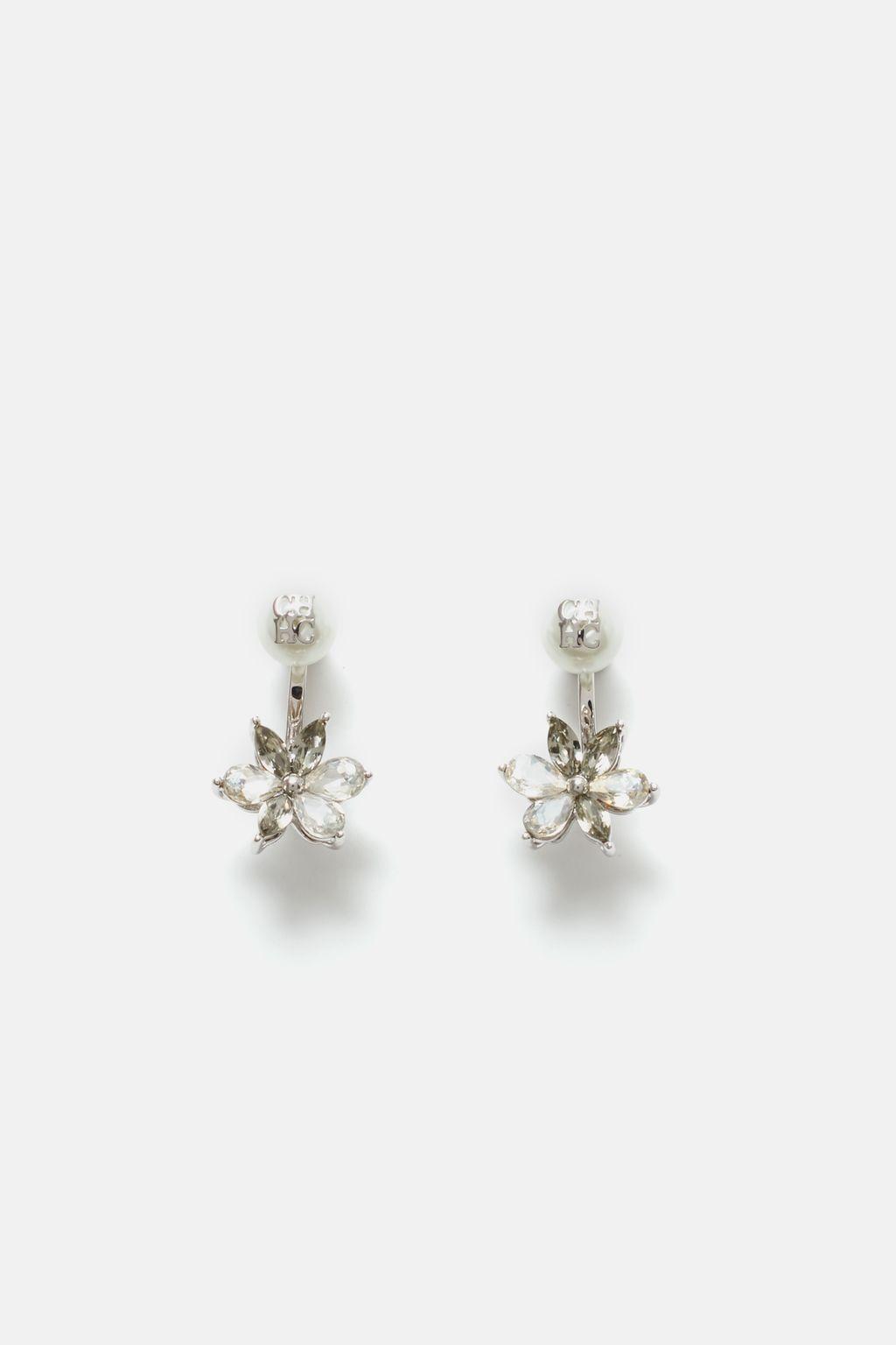 Crystal Jasmine drop earrings