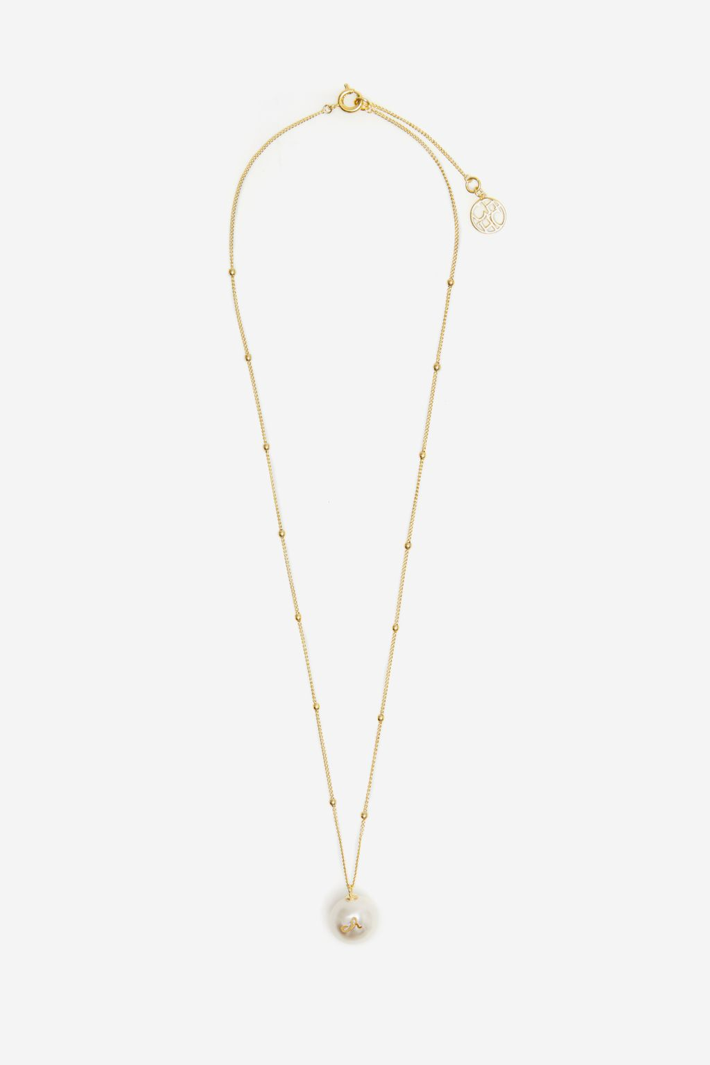 Gold Pearl necklace