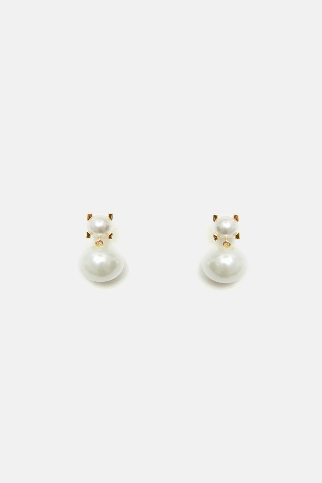 Insignia Pearl drop earrings