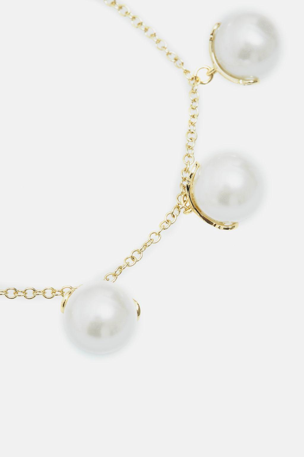 Falling Pearl bracelet