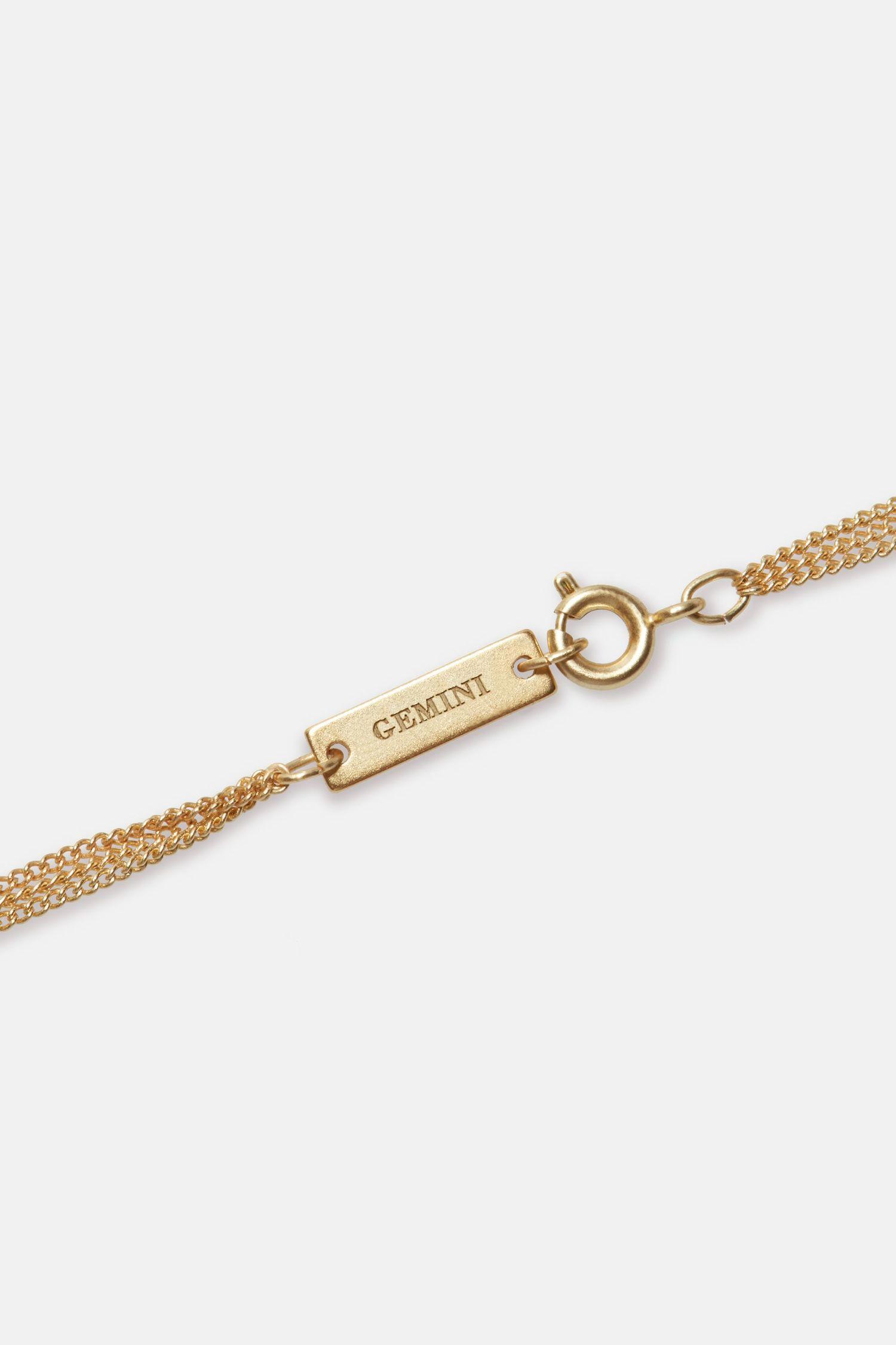 Gemini Zodiac necklace