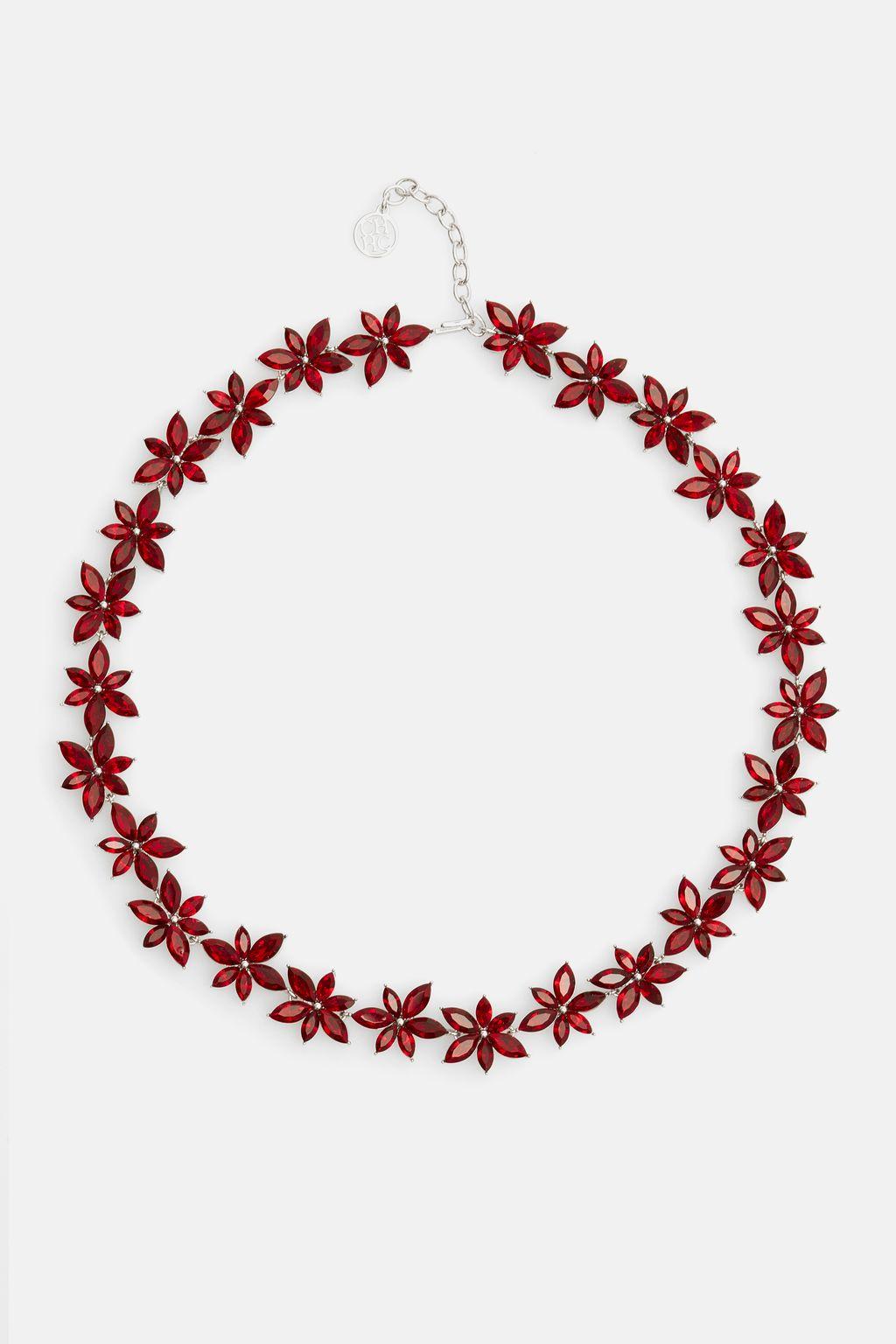 Crystal Jasmine necklace