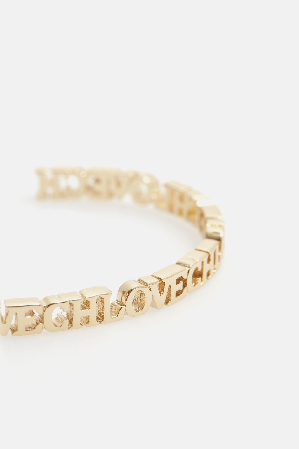 Between the Line CH Love thin cuff