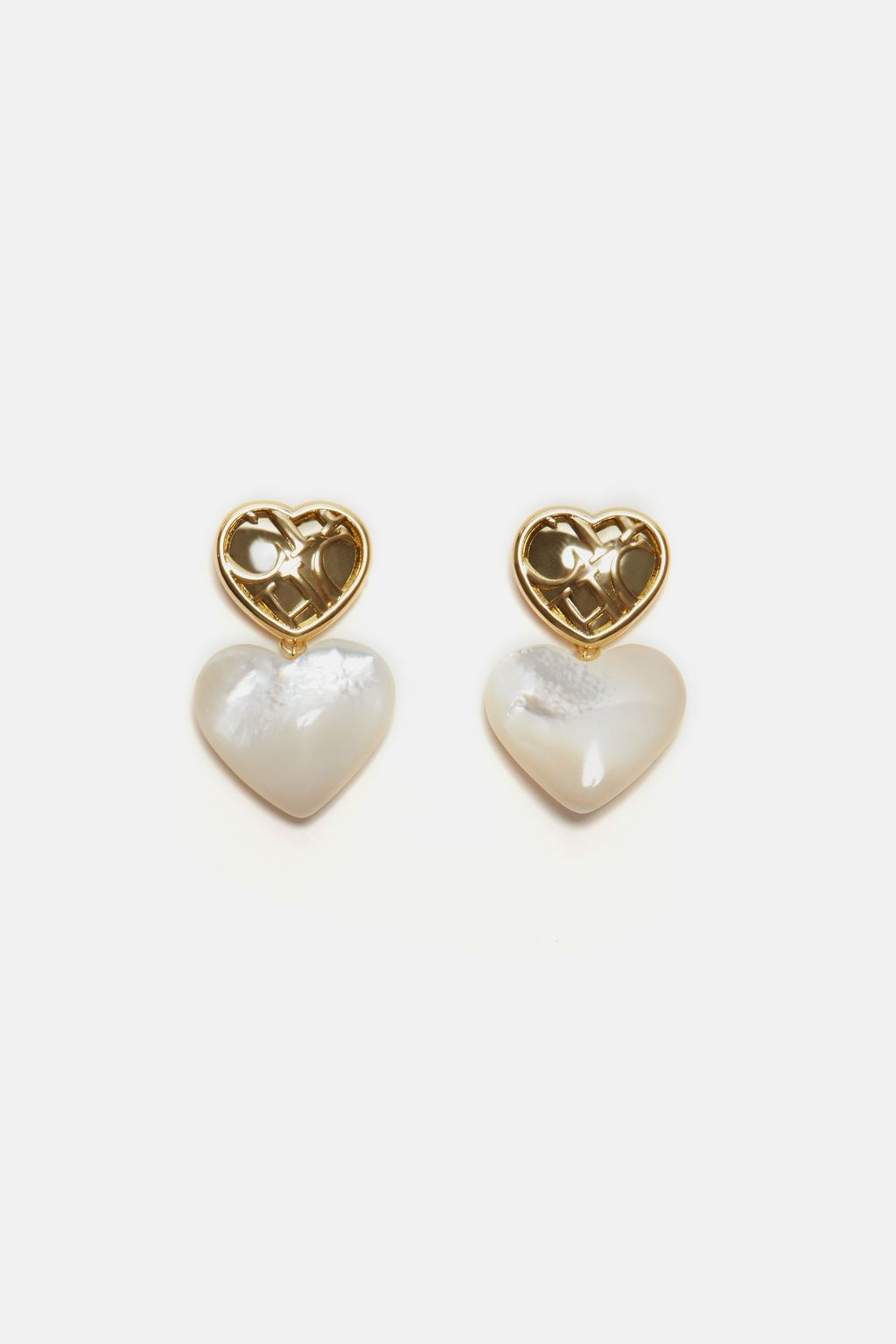 Moon Love drop earrings
