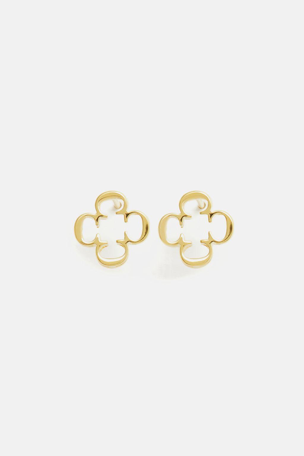 Small Insignia Rosetta earrings