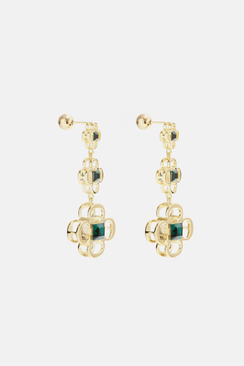 Insignia Rosetta drop earrings