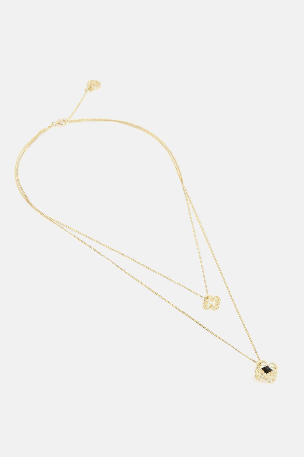 Insignia Rosetta layered necklace