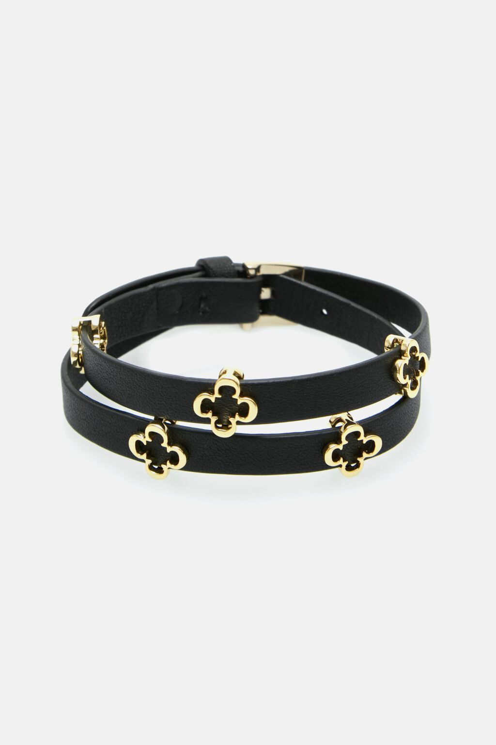 Rosetta Insignia leather bracelet
