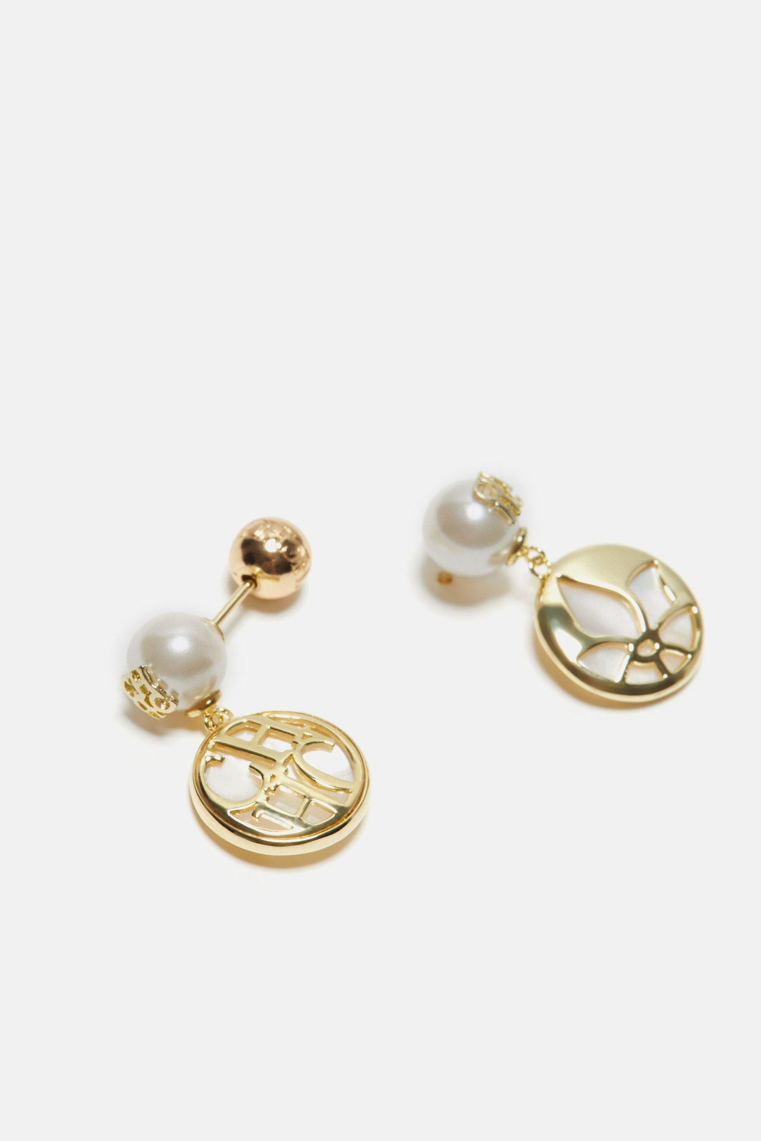 Petite Jasmine drop earrings