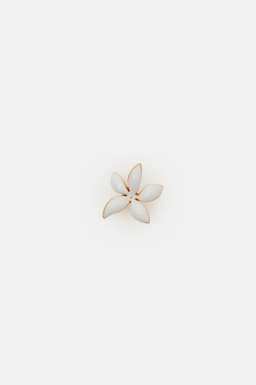 Falling Jasmine small single earring