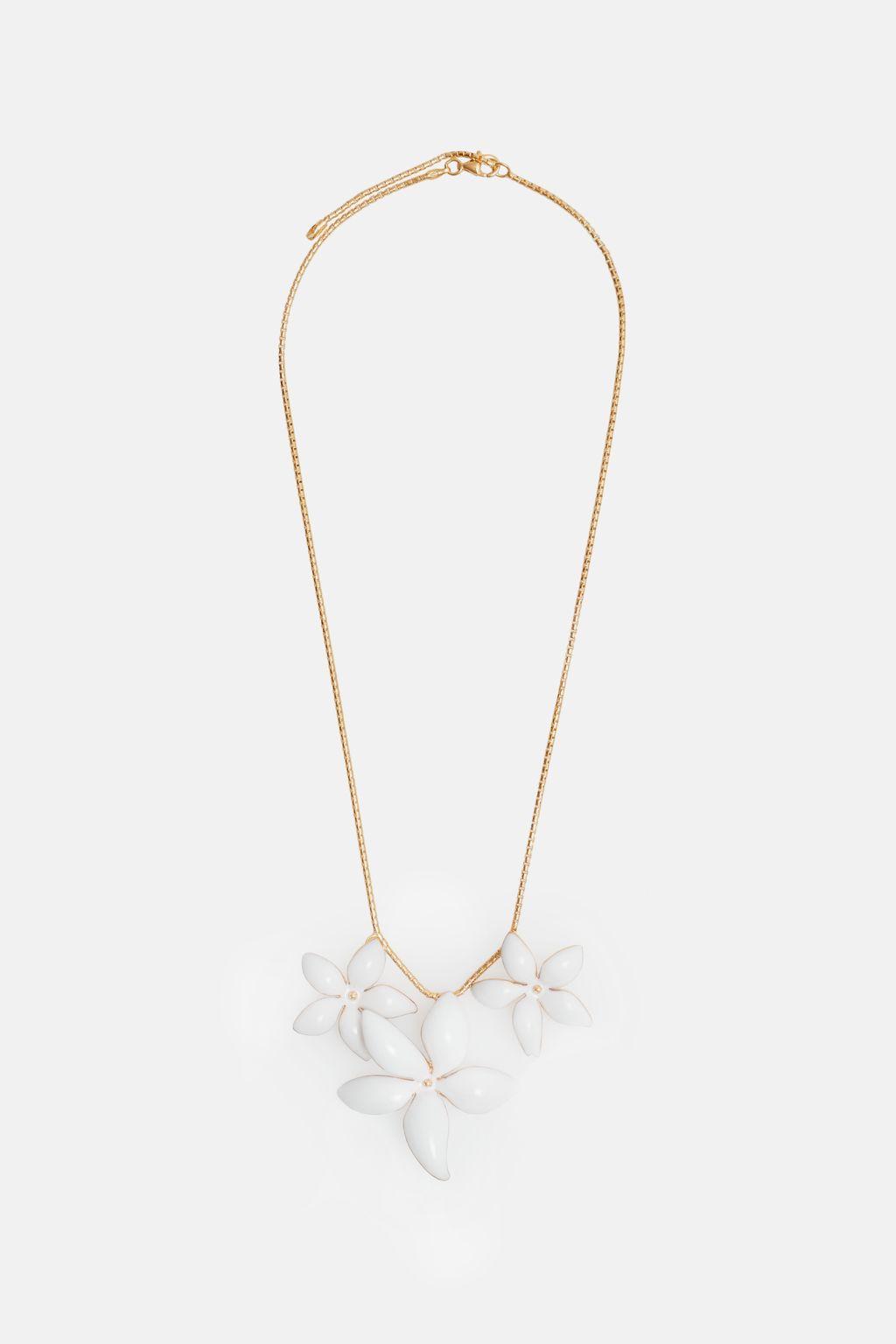 Falling Jasmine necklace