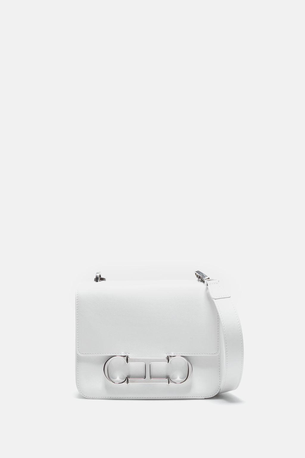 Initials Insignia   Small shoulder bag