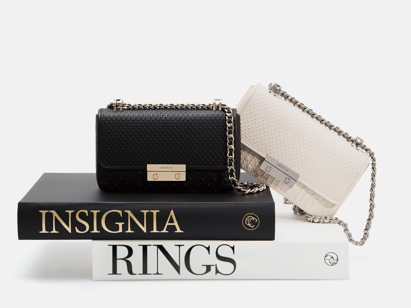 Insignia Mini Rings | Small cross body bag