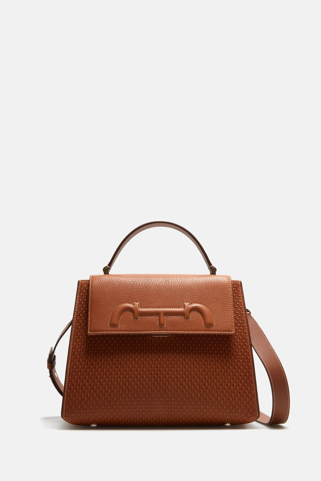 Doma Insignia Satchel | Medium shoulder bag