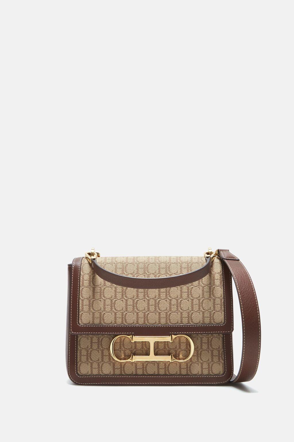 Initials Insignia Satchel  | Medium shoulder bag