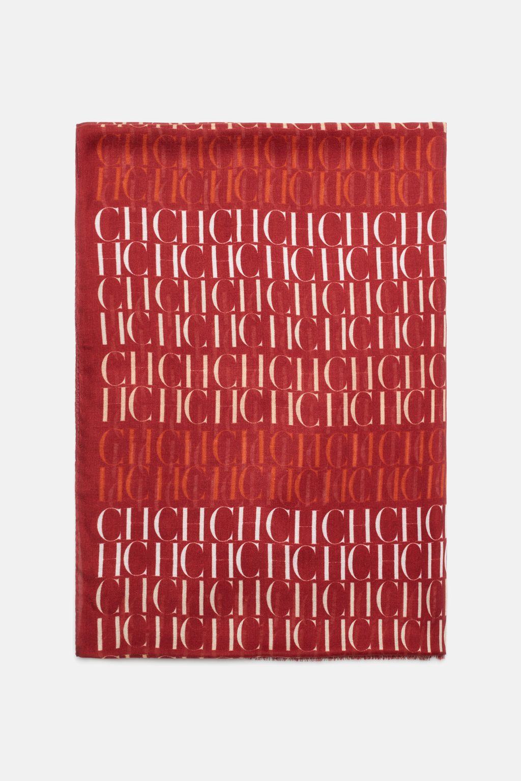 CH multicoloured modal pashmina