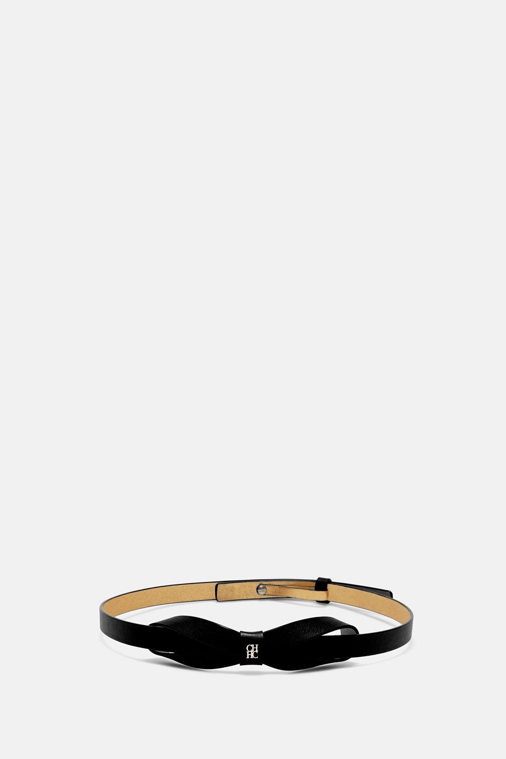CH Ribbon leather belt