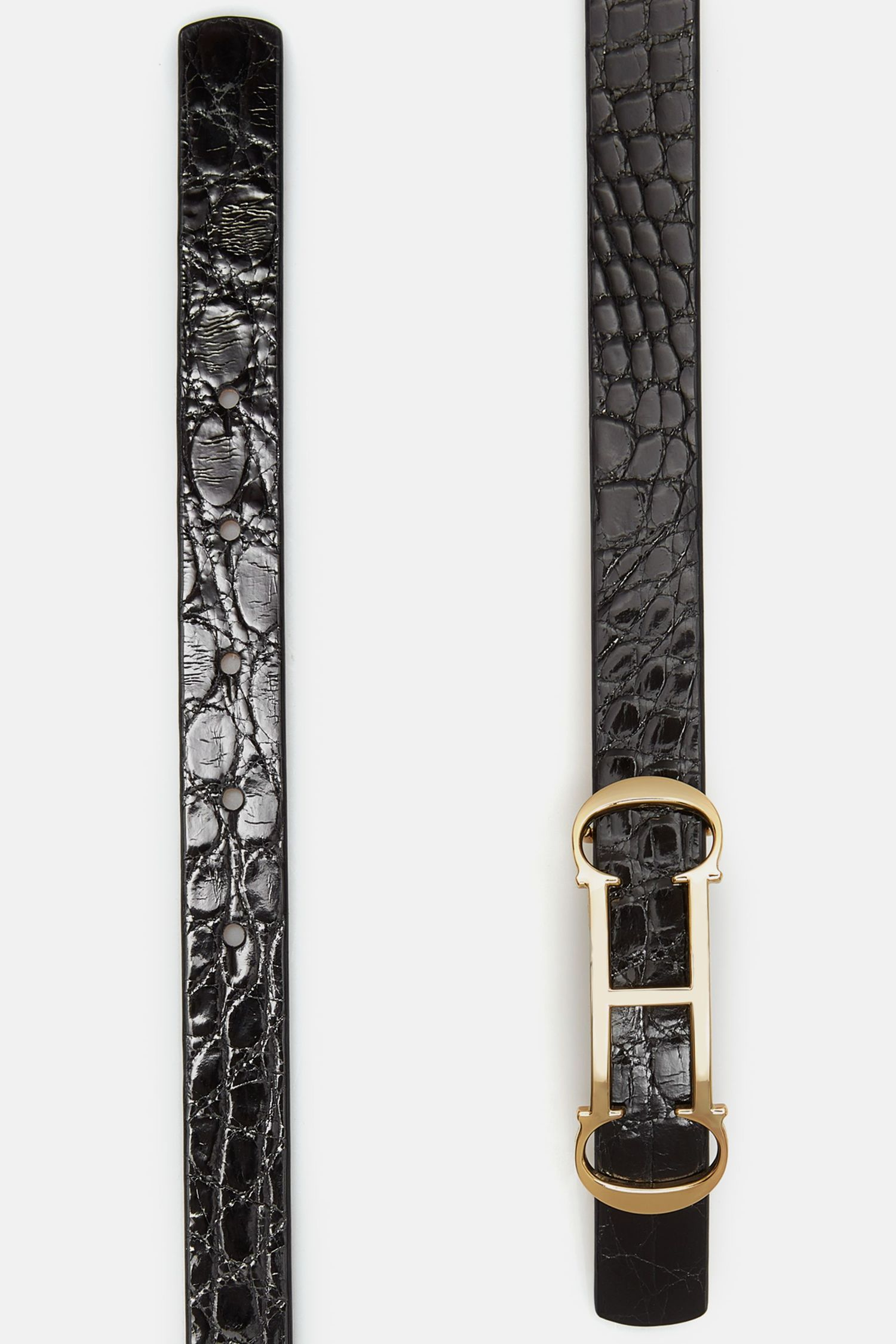 Insignia crocodile belt