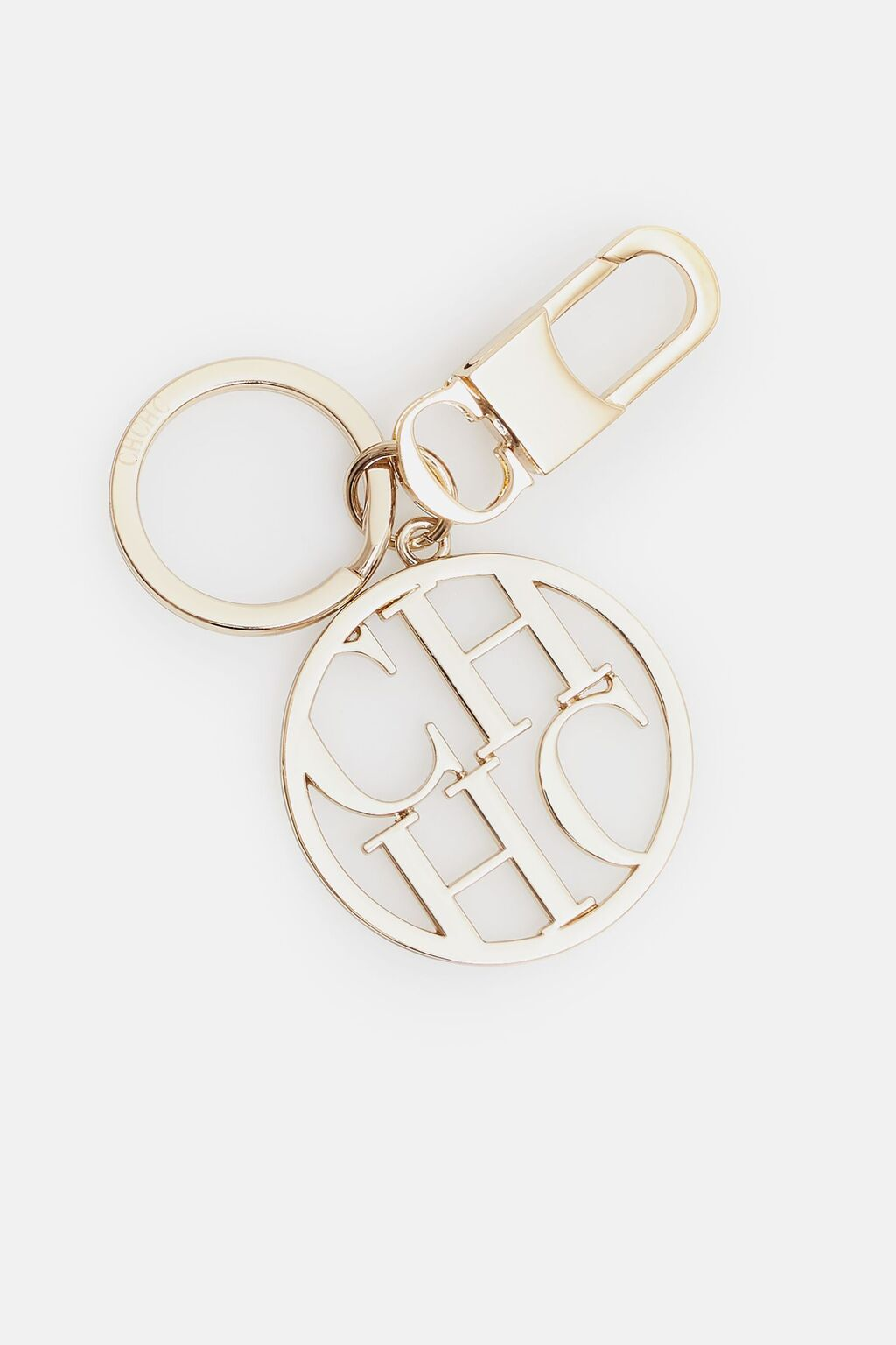 CH Medallion keychain