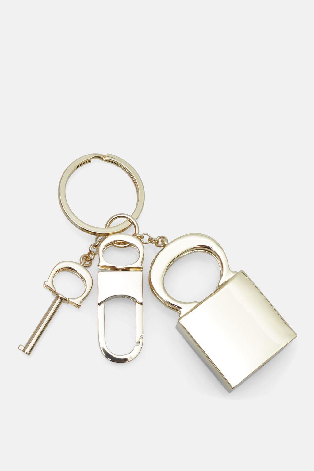 Locked Insignia keychain