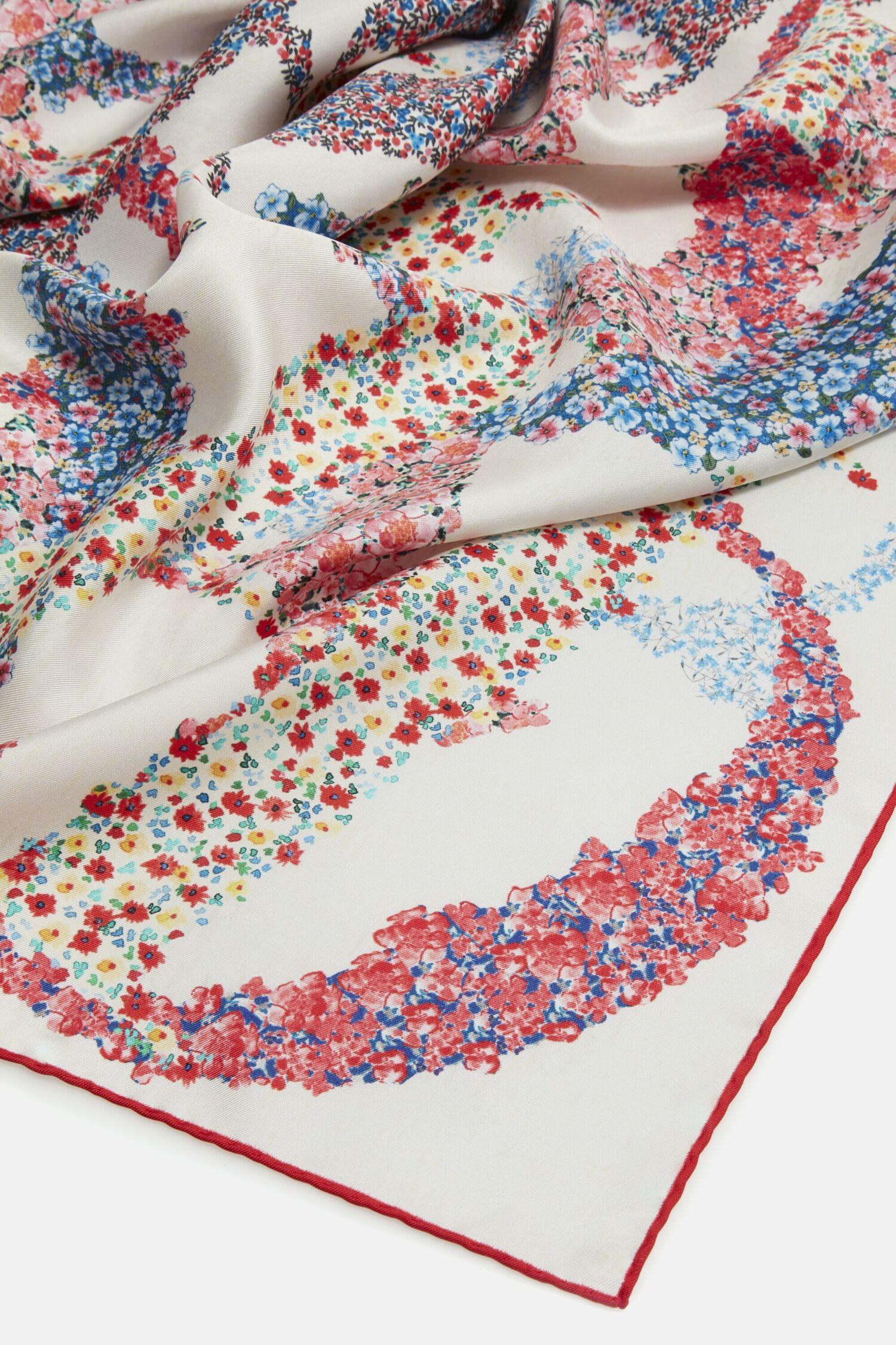 CH in Bloom silk scarf