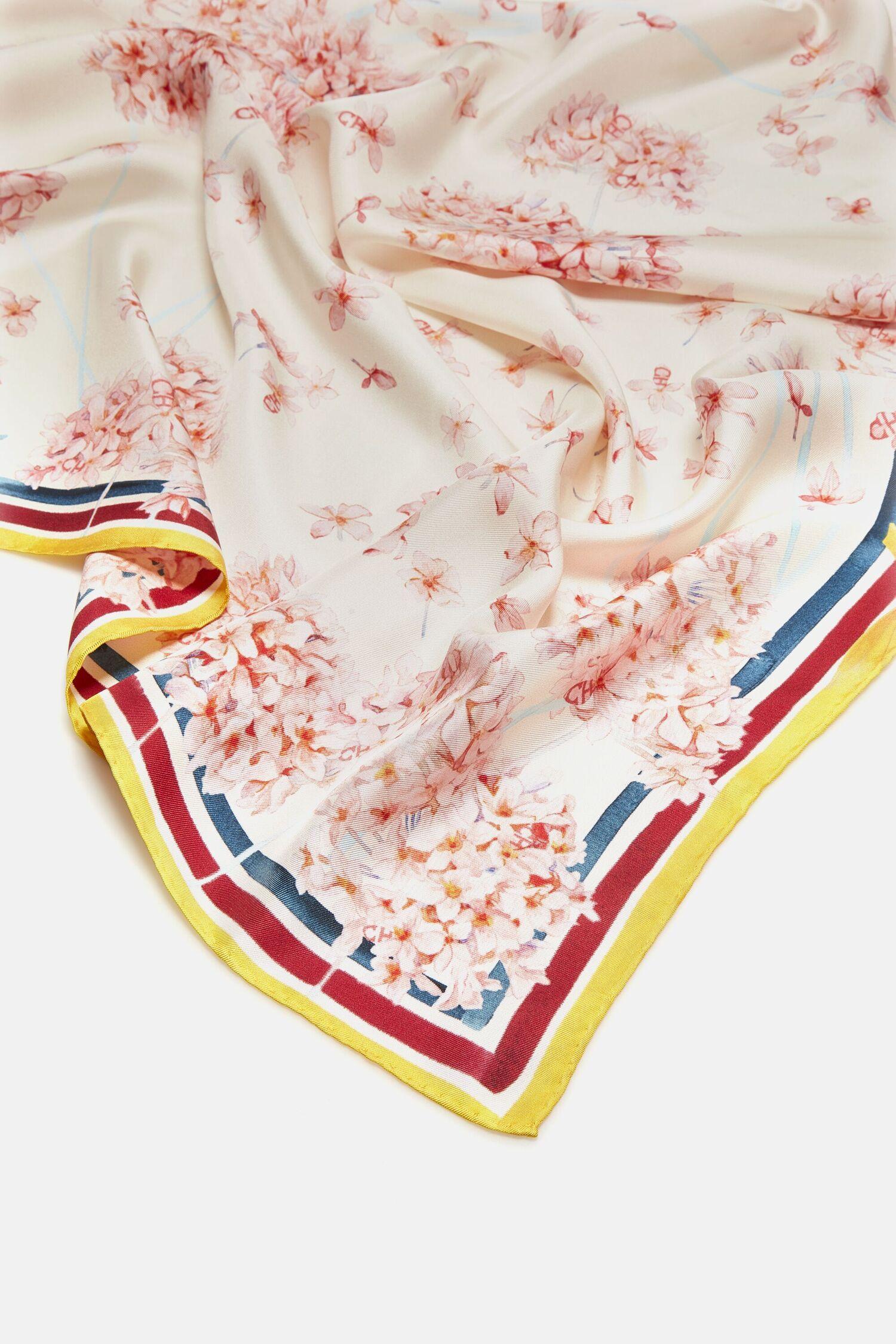 Biznaga silk scarf