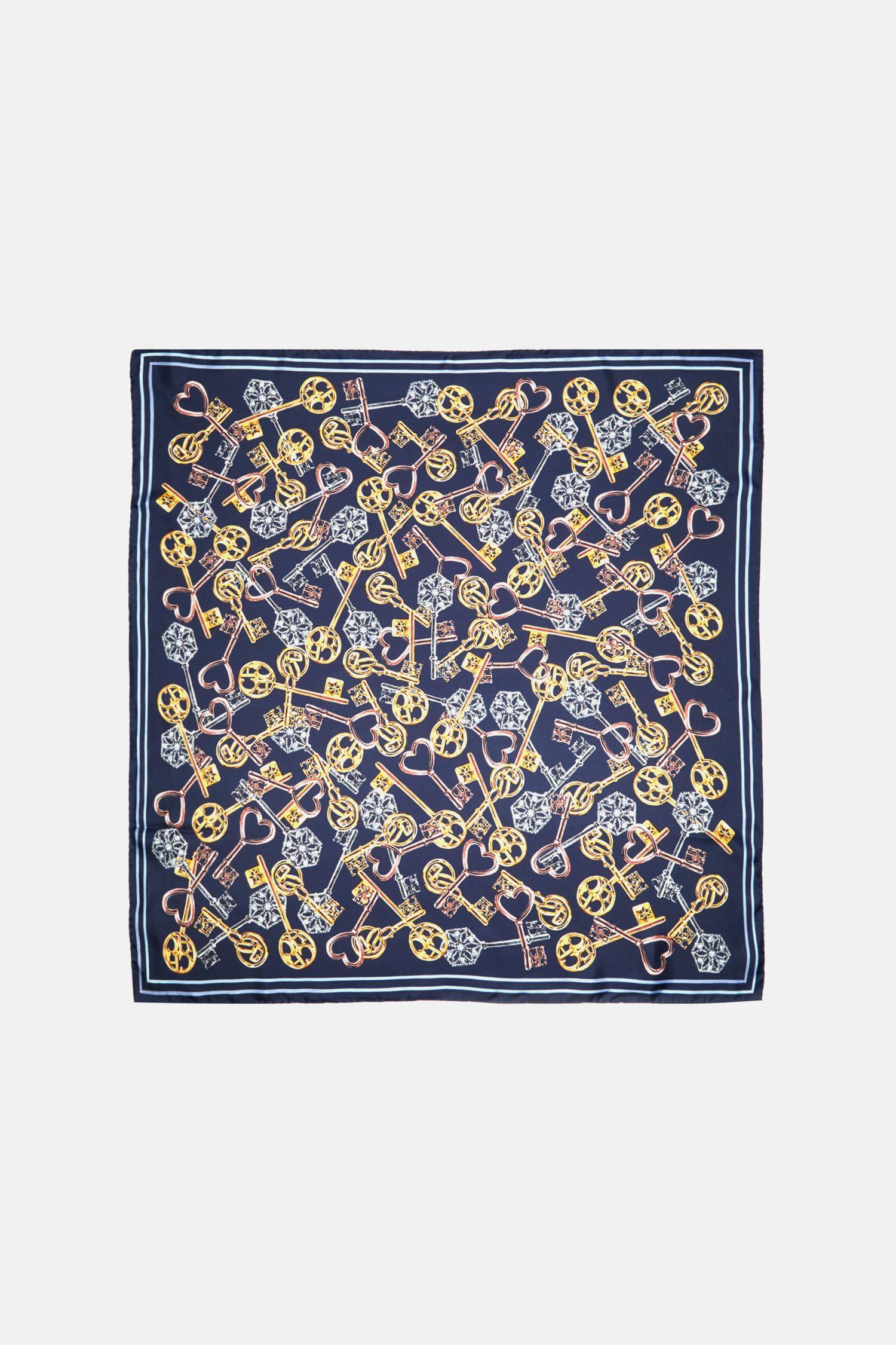 Las Llaves silk scarf