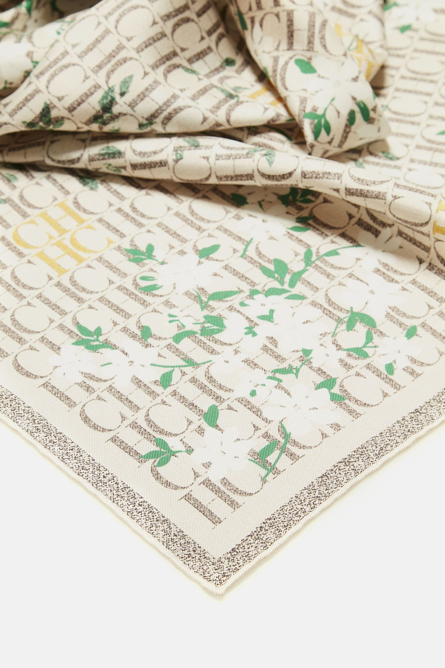 Caracas Jasmine silk scarf