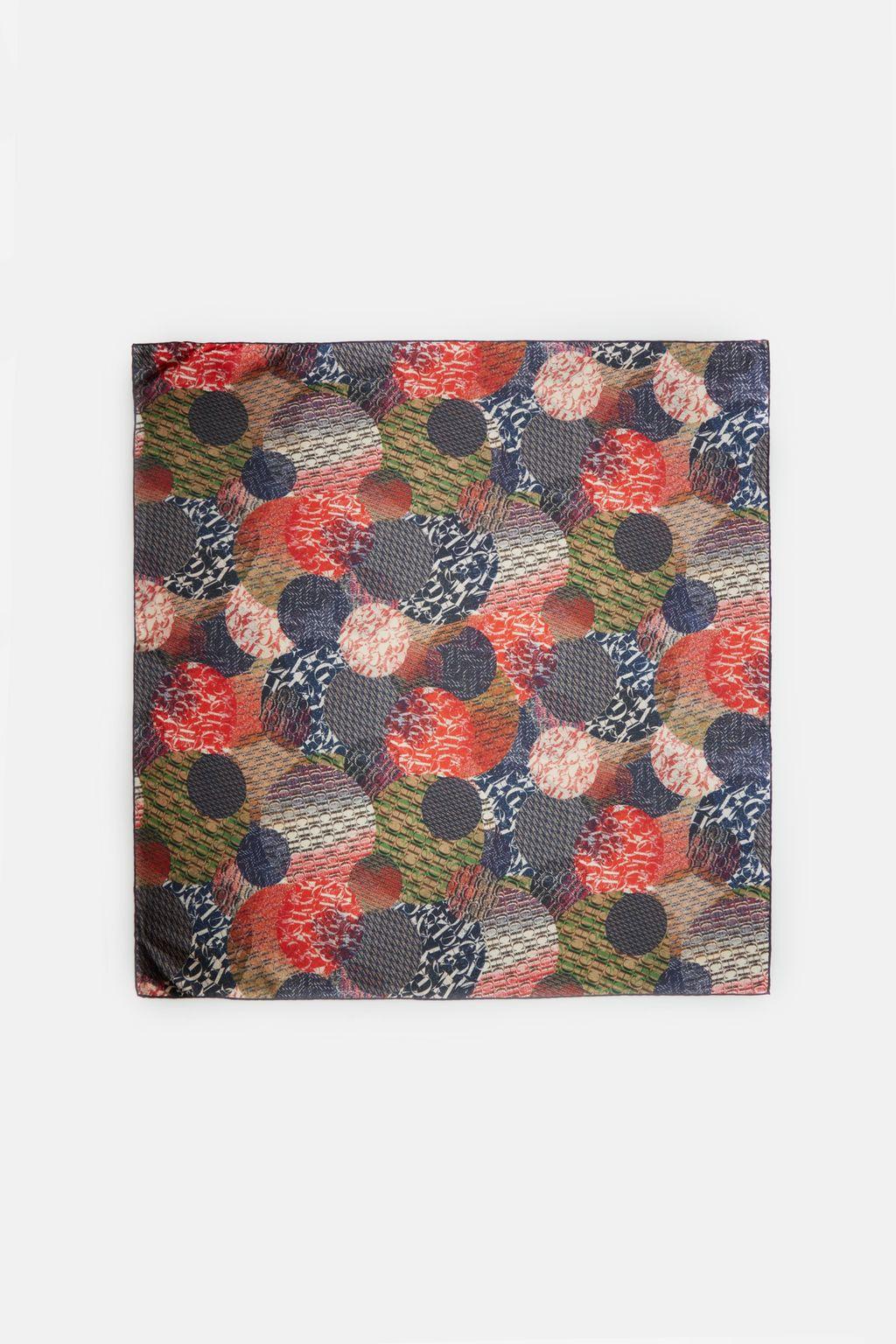 CH Dots silk scarf